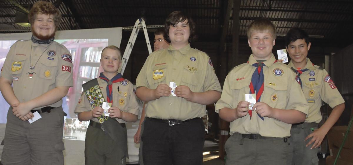 Boy Scout troops from Liberty, Gladstone celebrate PPE distribution