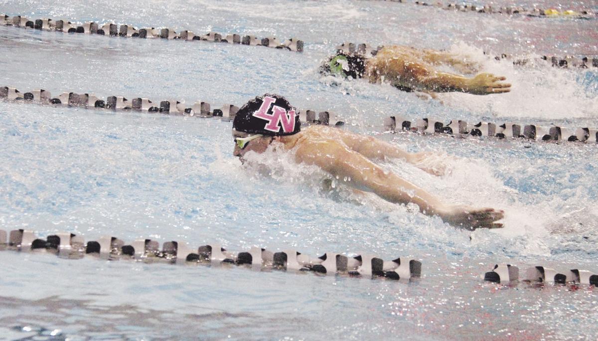 Liberty posts fourth straight top-10 finish at state swim meet