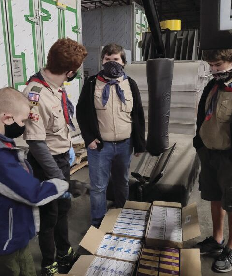 Liberty Troop 320 organizes, distributes PPE to early education locations