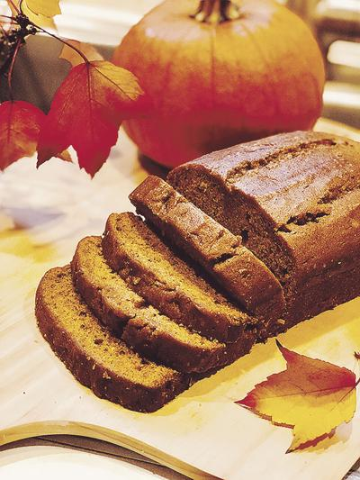 DONNA'S DAY: Spice up fall with pumpkin bread