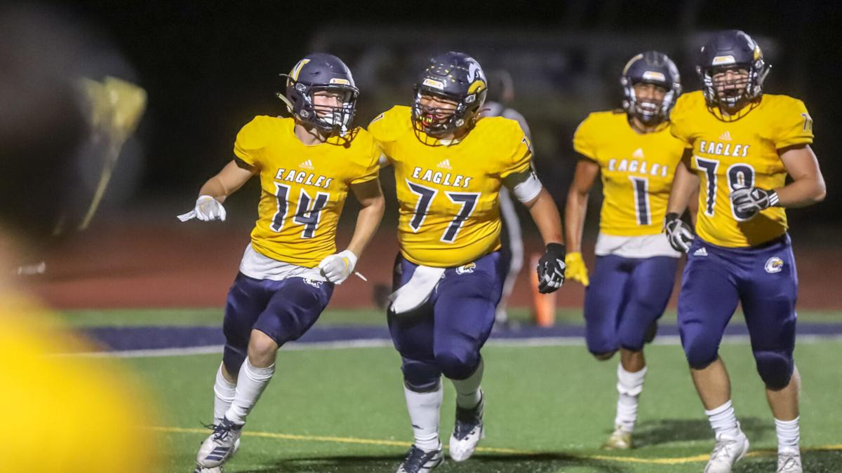 Liberty North football against Blue Springs