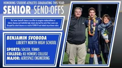 Senior Send-offs: Benjamin Svoboda, Liberty North