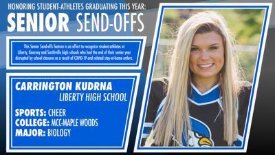 Senior Send-offs: Carrington Kudrna, Liberty