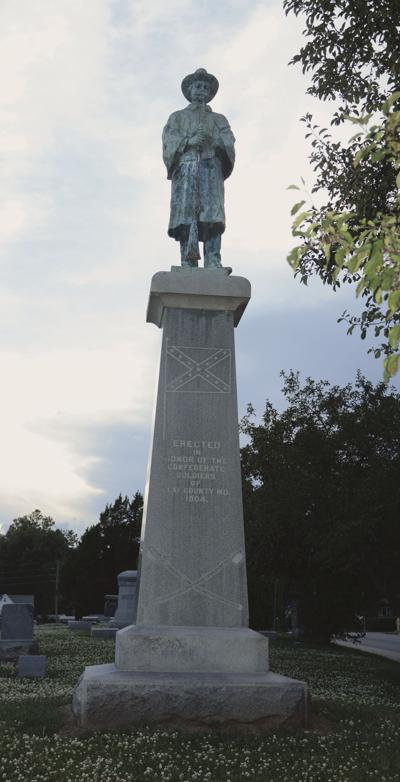 Confederate soldier statue draws petition for removal, others seek to leave it