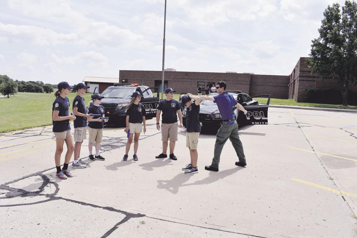 Junior Police learn about job dangers, have fun