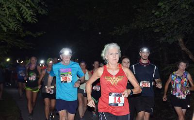 Lunartic 5K experiments with chip-time starts for running events