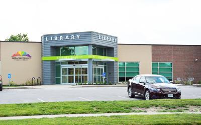 Kearney library rededication July 18