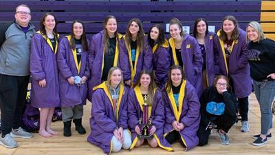 Kearney girls swim wins Pirate Invitational