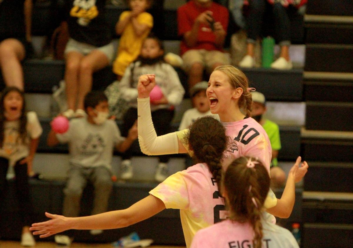 Liberty North volleyball vs Liberty
