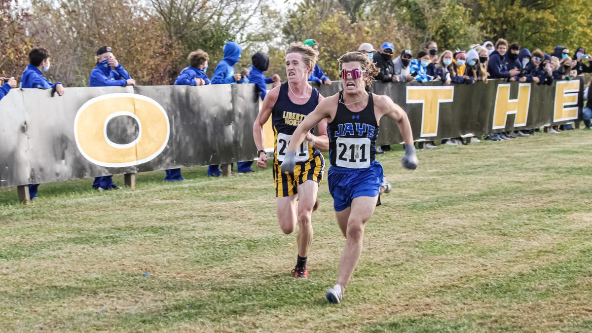 Eagles cross country edges out Liberty for conference crown