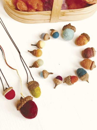 DONNA'S DAY: Felting autumn acorns is crafty fun for kids