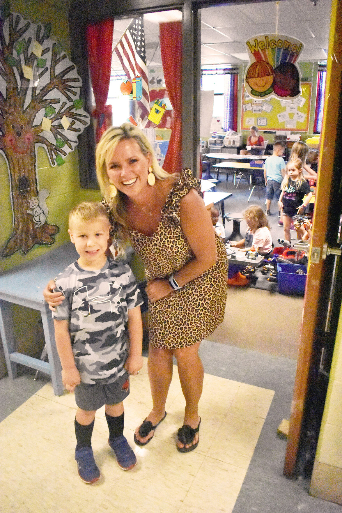 Northland students discuss first day of school