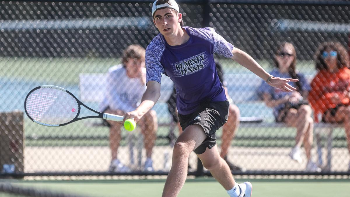 Kearney duo takes 4th at state double tournament