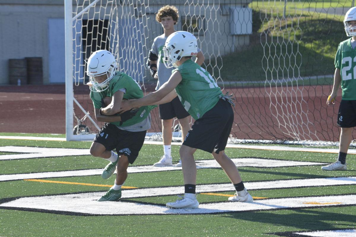 Warriors take to new field in first week of practice