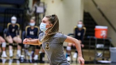 Eagles volleyball stays undefeated with win over Jaguars