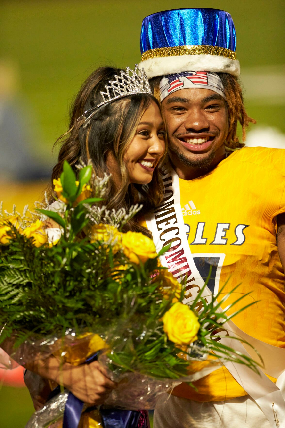 Liberty North Homecoming king & queen