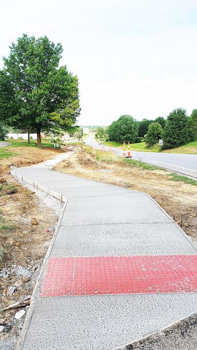 Sidewalks visible along Highway 92 in Kearney