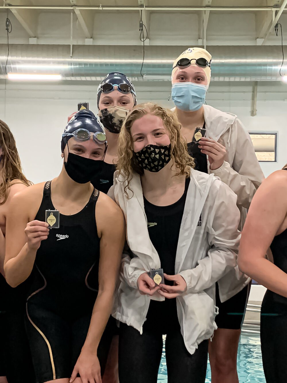 Courier-Tribune Winter 2020-21 All-Area Teams: Girls Swimming