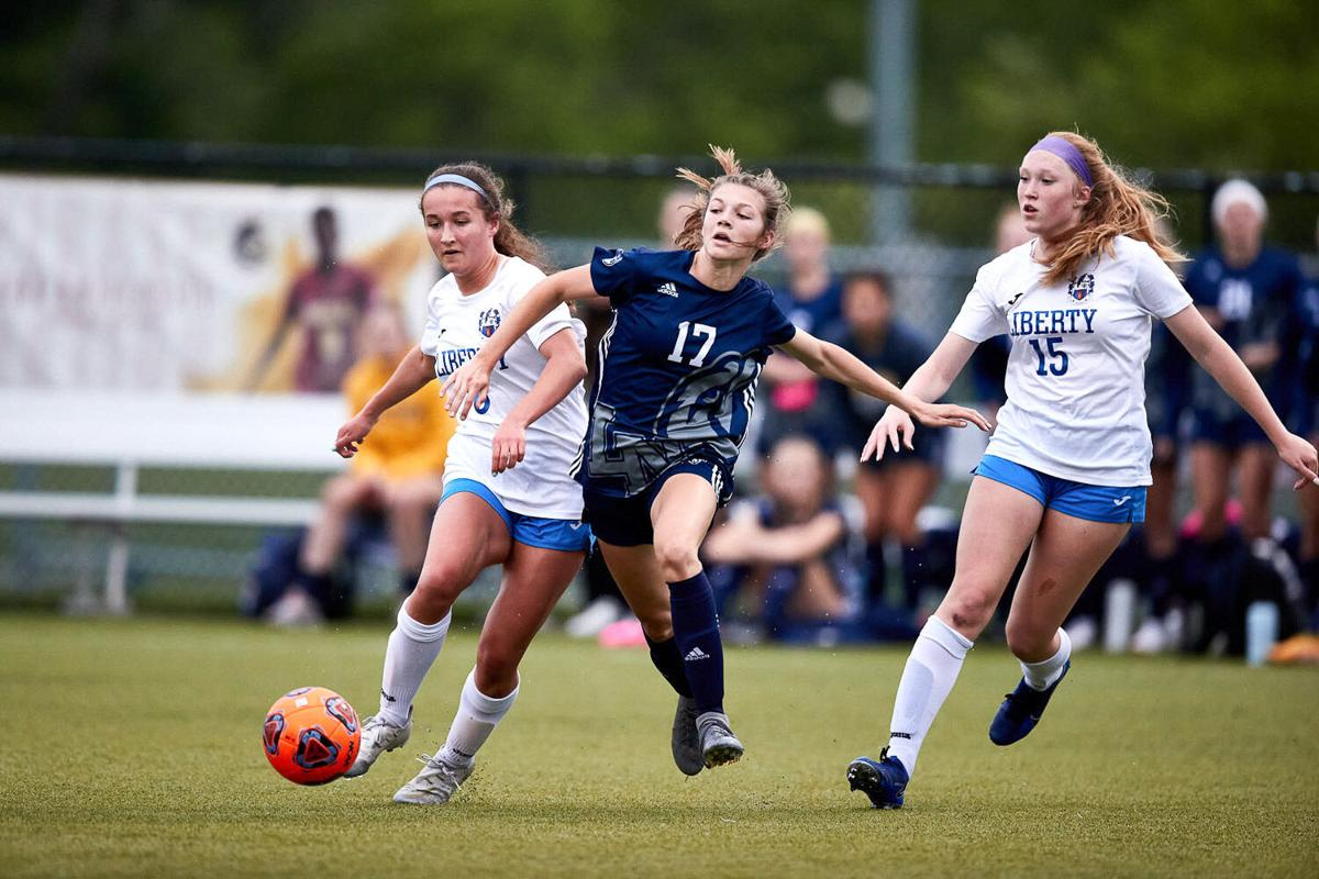 Liberty North girls soccer beats Liberty in district semis