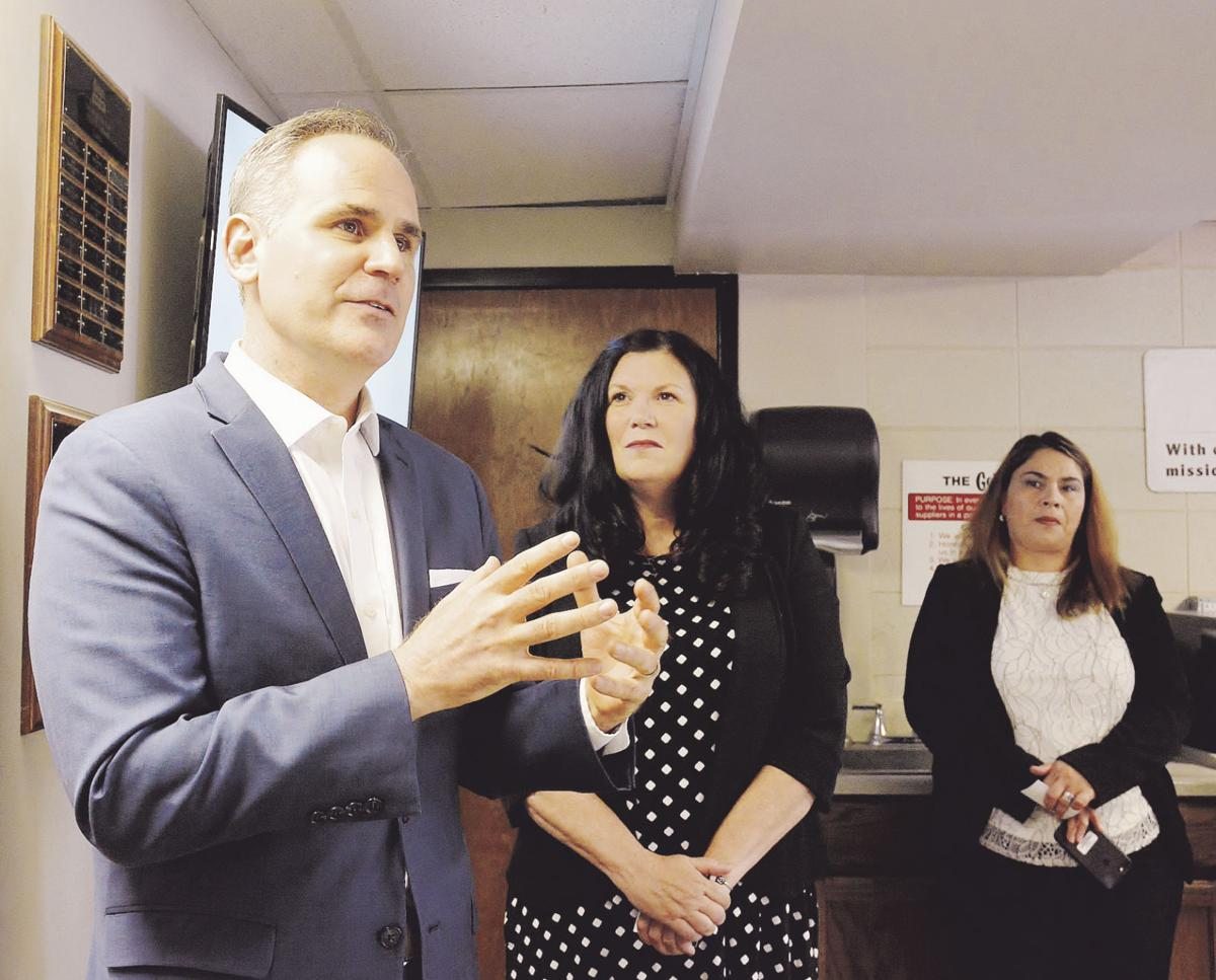 SBA acting administrator pays visit to Geiger Ready-Mix in Liberty
