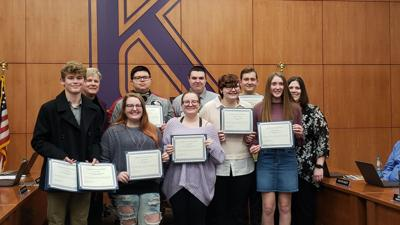Kearney student journalists earn recognition for broadcasting, yearbook