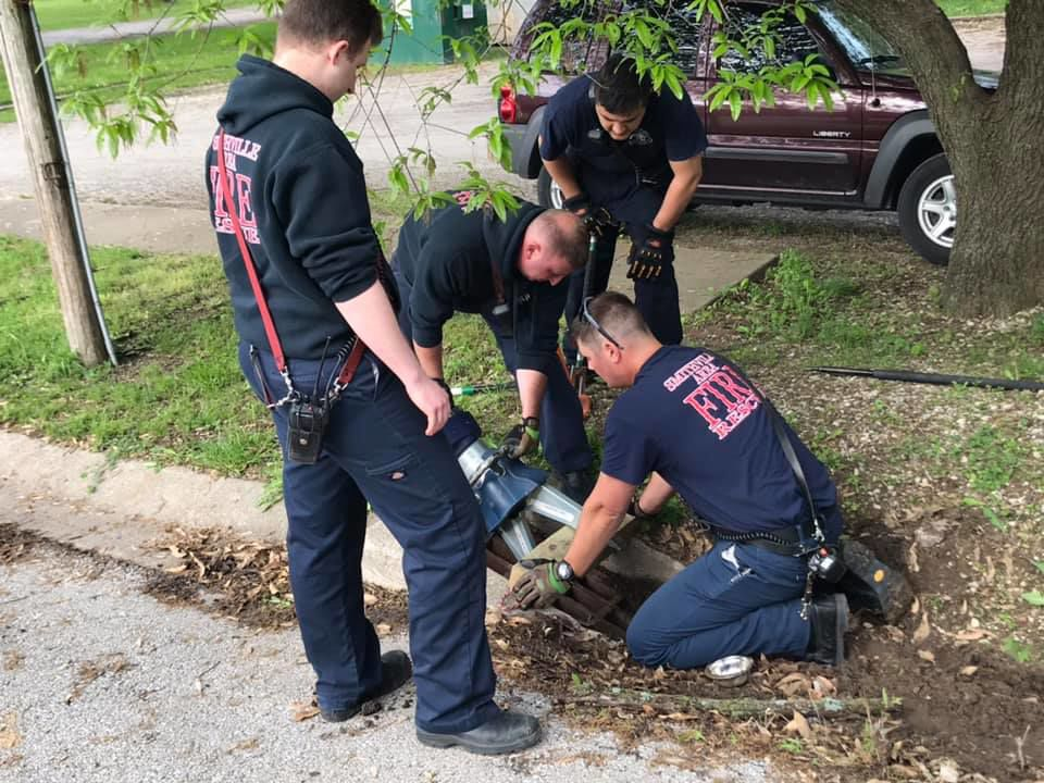 First responders shine light on good in community