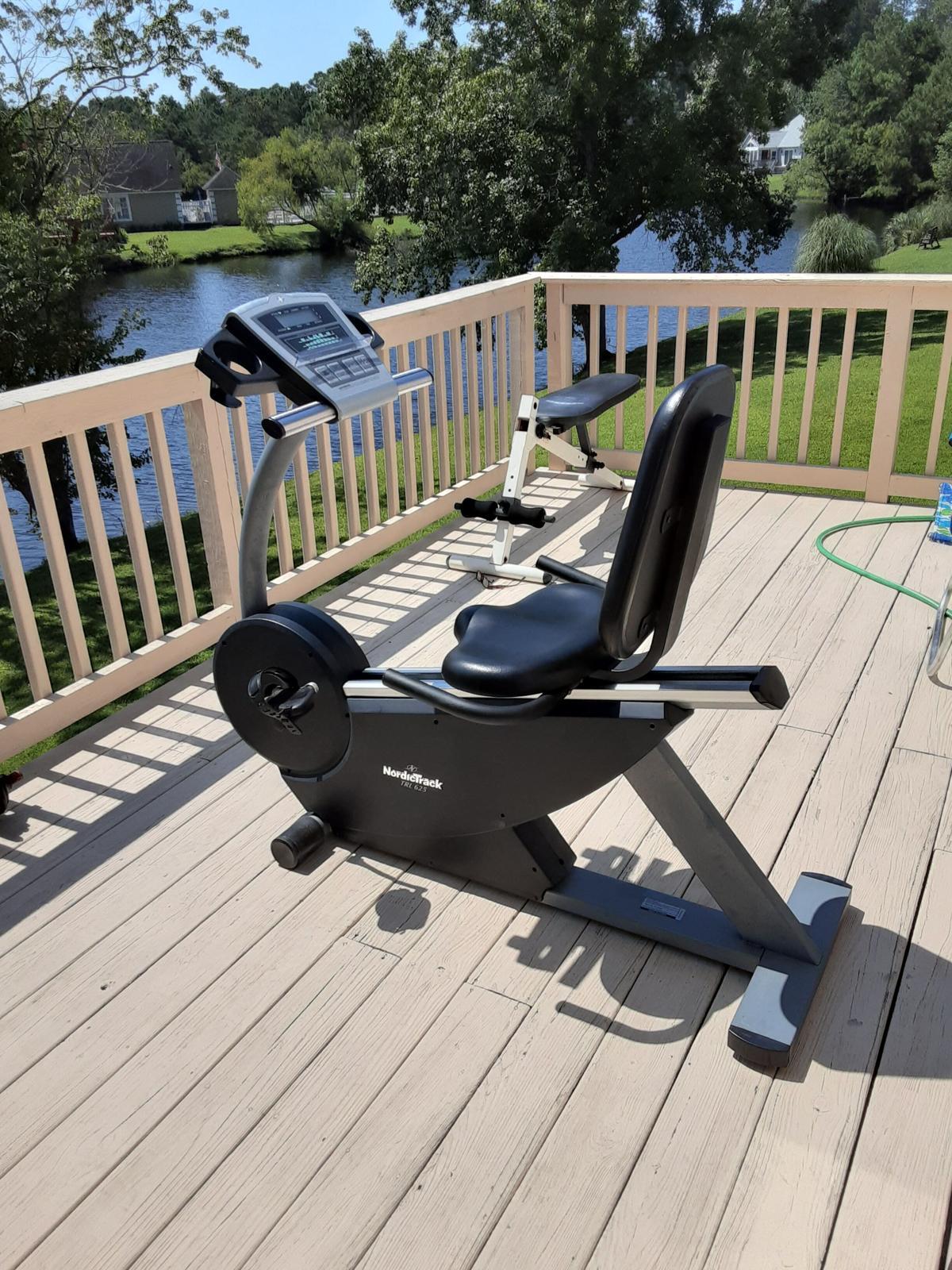 Exercise bike image 1