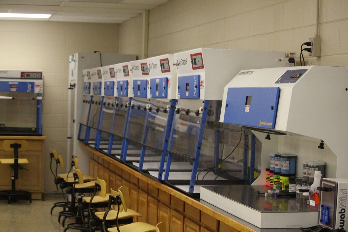 Inside HGTC's CSI lab