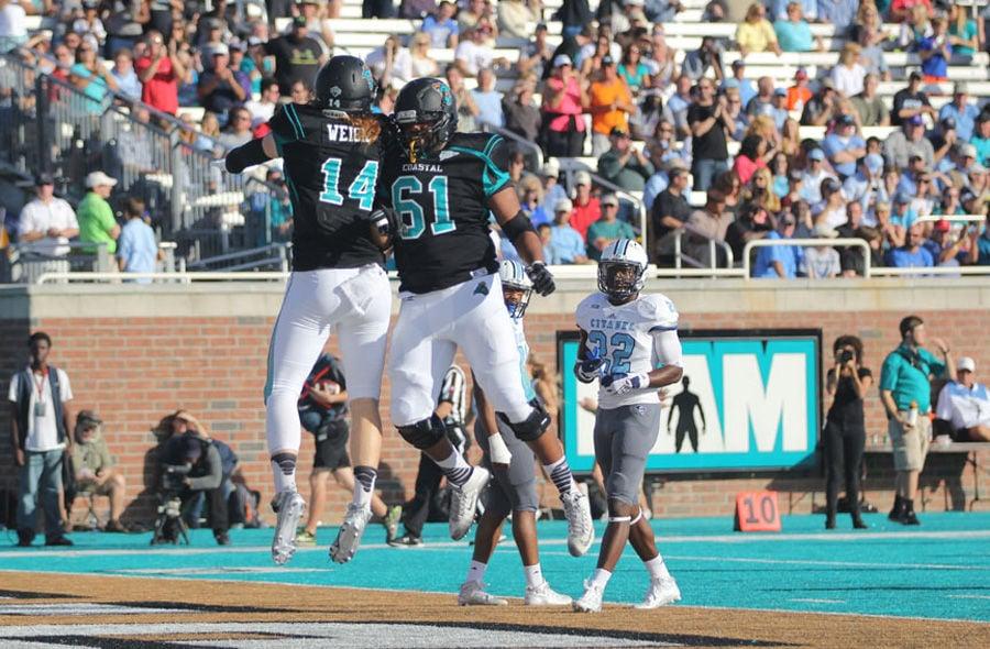 Coastal Carolina releases 2017 football schedule | College ...