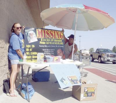 Family of missing man collects food and money to assist local ministry