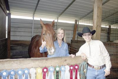 These equestrians don't 'horse around'