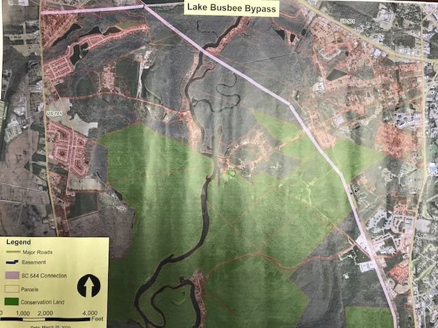 Busbee Bypass map