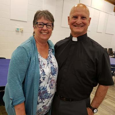 Rev. Hank Corcoran  and wife.
