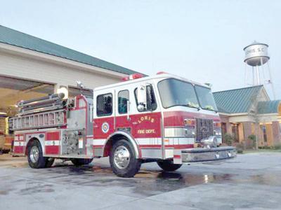 LVFD awarded AFG grant for new fire engine | Loris | myhorrynews com