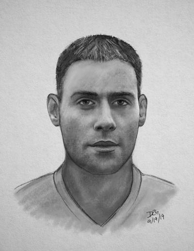 Robbery suspect sketch