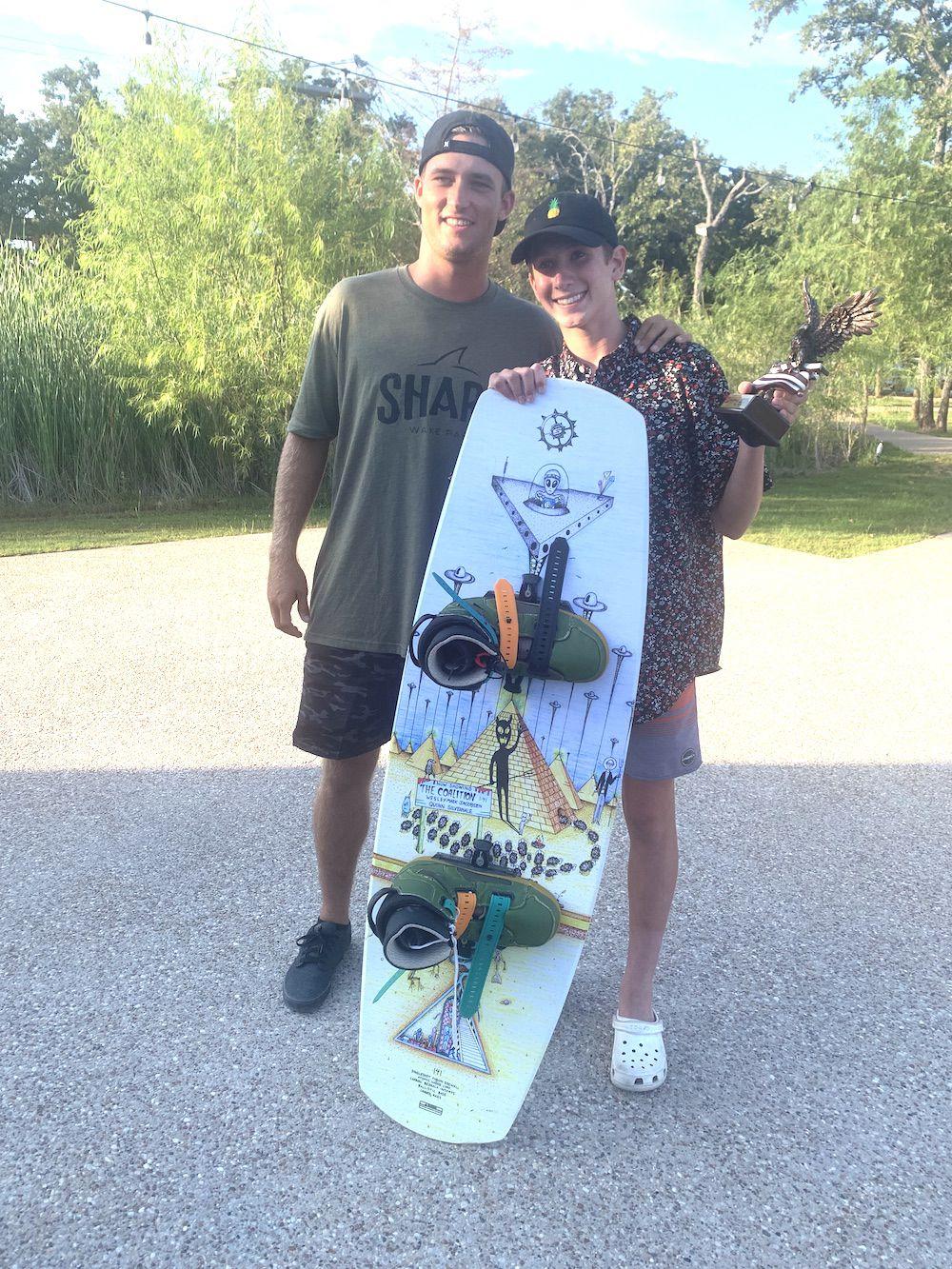 Ethan Bellamy wakeboarding 2