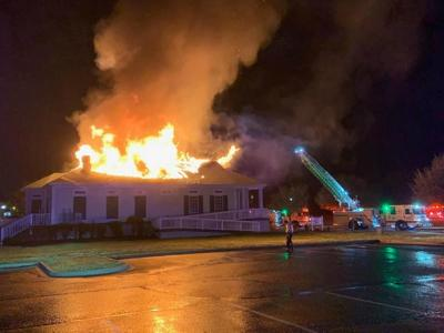 Fire in Conway March 24 2020