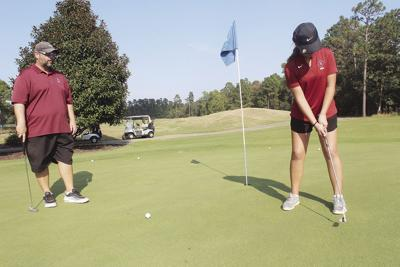 Young Panther golfers