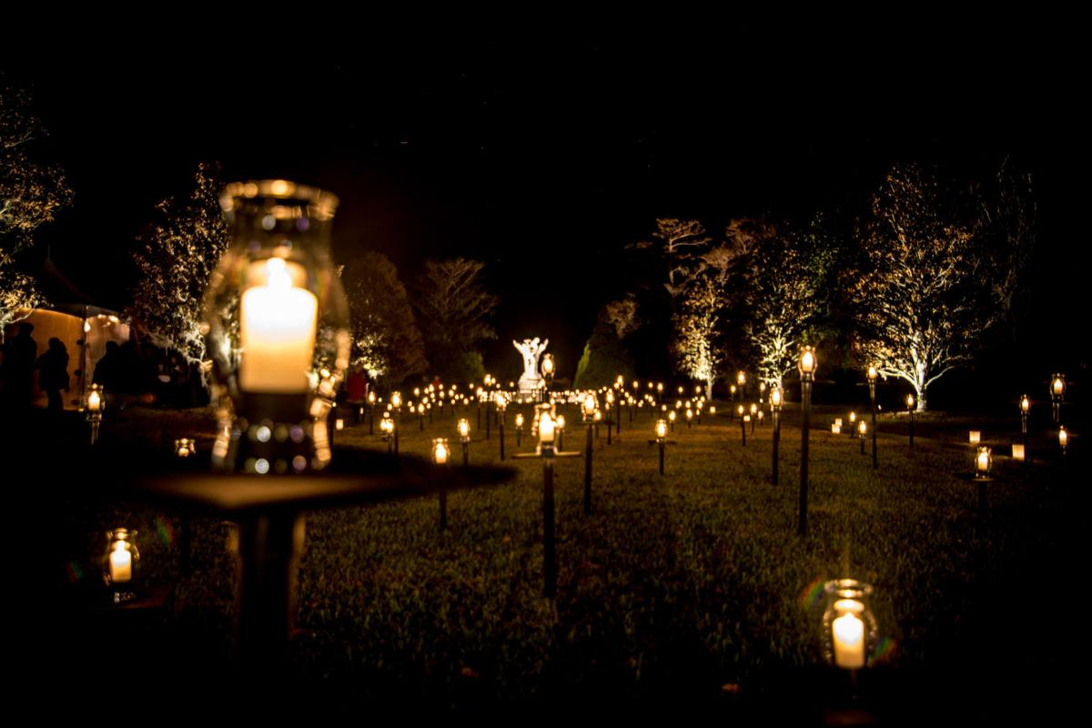 Nights Of A Thousand Candles Lights Up Brookgreen Gardens Visit
