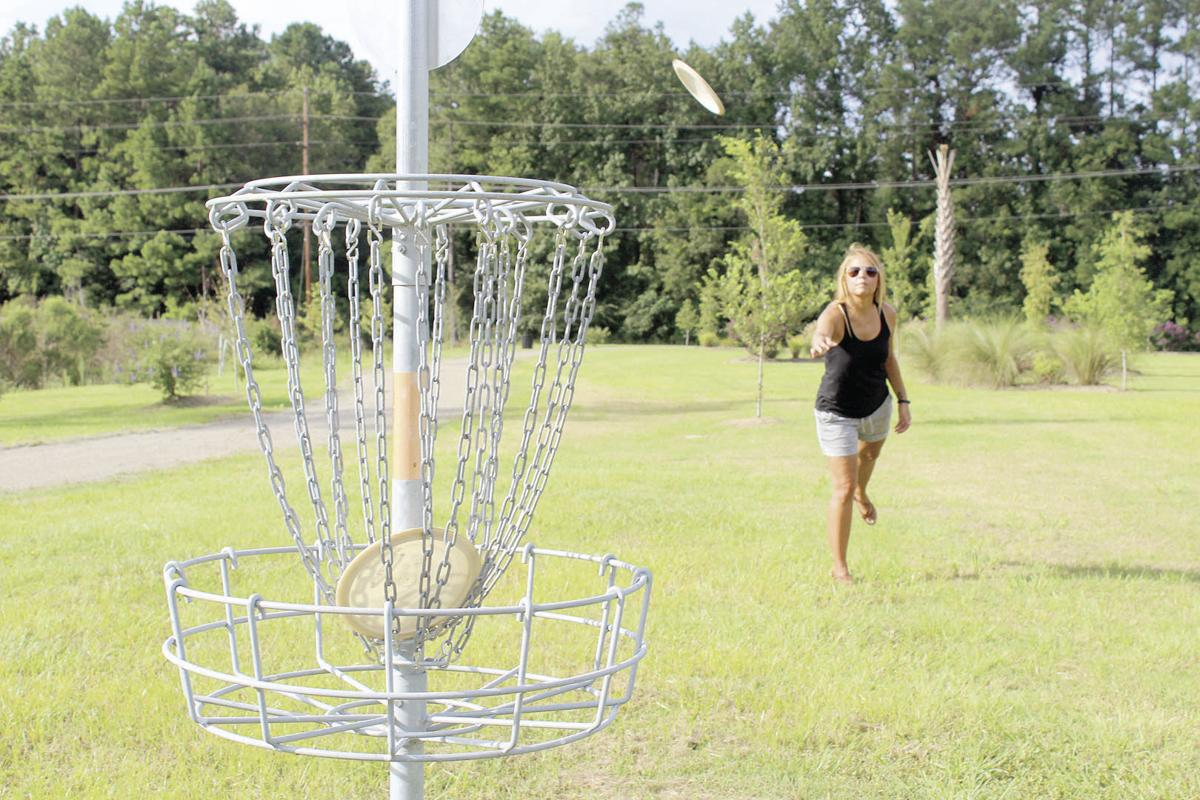 Phase Two Of Sherwood Forest Park Features Disc Golf And Fitness Course