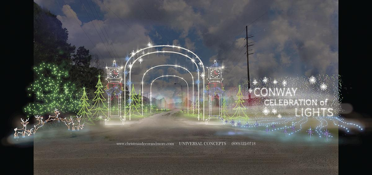 Conway Planning Major Christmas Lights Display News  - Christmas Lights In Sc