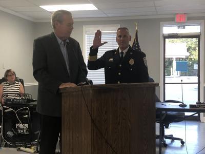 Clemons sworn in