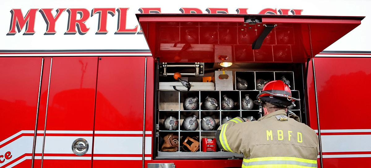 How are local fire departments dealing with the coronavirus pandemic?