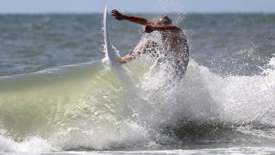 Surfers hang loose during this year's Guy Daniels Memorial Surfoff
