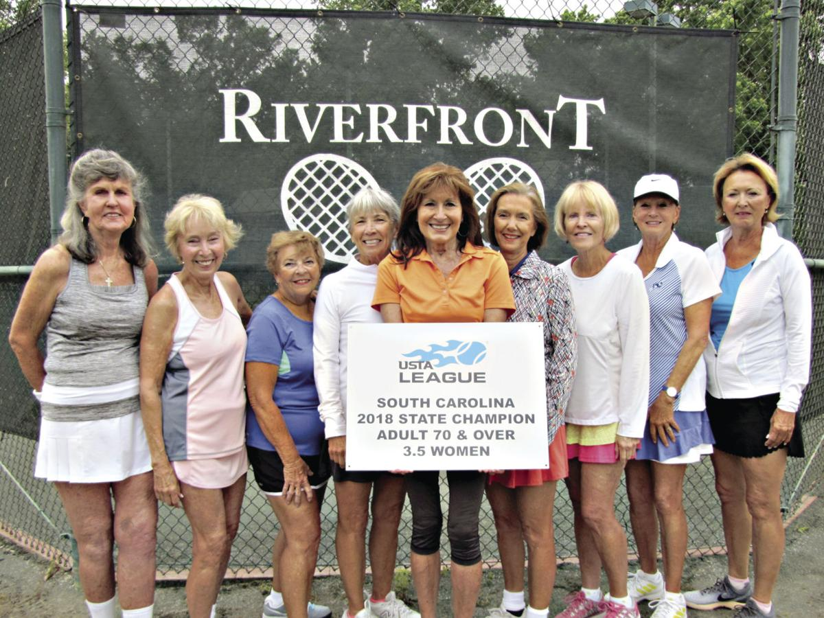 Riverfront tennis team captures state title for women over 70