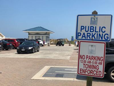 Paid Parking in North Myrtle Beach