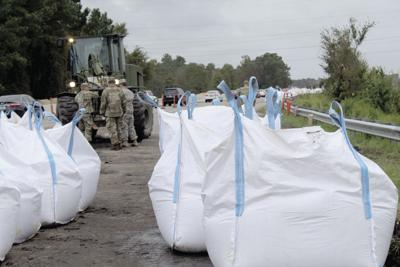 Flooding Sandbags 2
