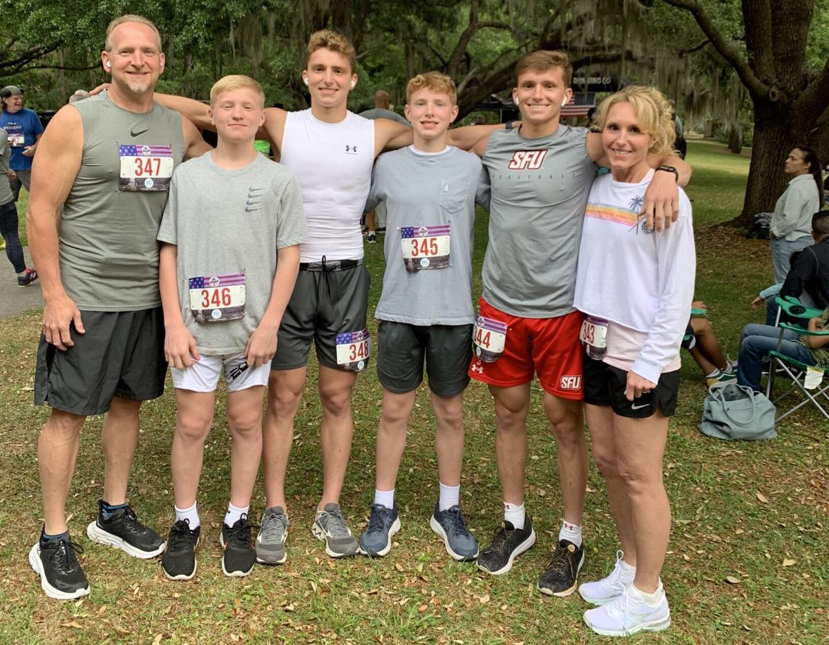 Myrtle Beach 'vacation' includes family dominance in 5K race
