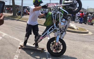 Atlantic Beach BikeFest tricks