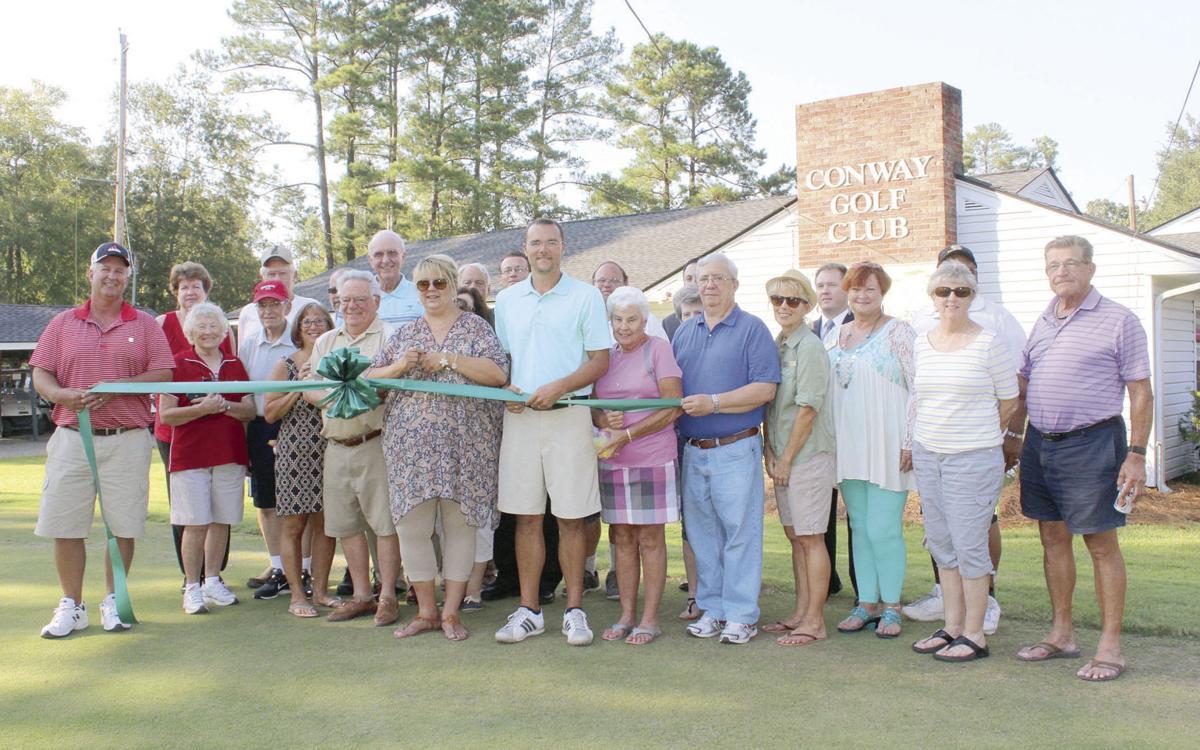 pic conway Golf Club ribbon